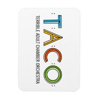 "3""x4"" TACO Magnet"
