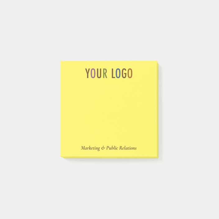 Custom Post It Notes With Company