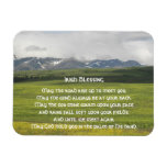 3 x 4 Irish Blessing Green Valley Vinyl Magnets
