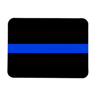 3 X 4 THIN BLUE LINE MAGNET