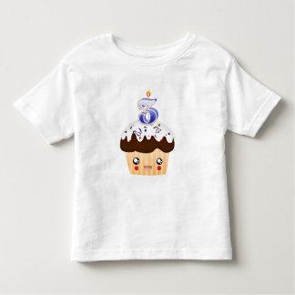 3 Year Cupcake T - Blue Toddler T-shirt