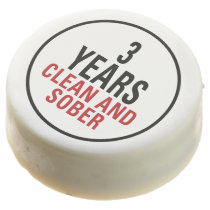 3 Years Clean and Sober Chocolate Covered Oreo