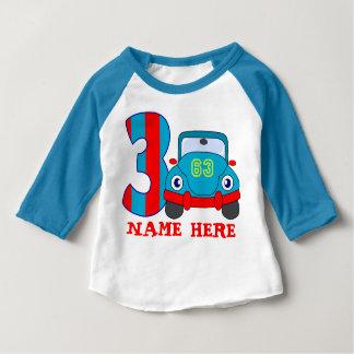3 YearS Old Birthday T Shirt