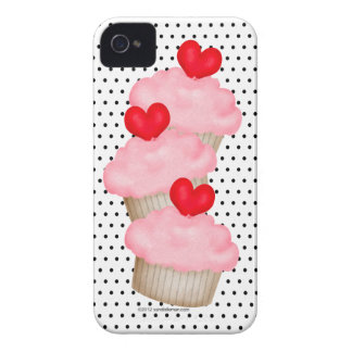 3 Yummy Cupcakes iPhone 4 Case