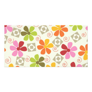 3ai flowers retro card