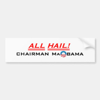 3b.Chairman MaObama Bumper Sticker