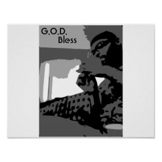 3colors3, G.O.D., Bless Poster