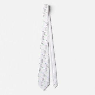 3d6 en orden corbata personalizada