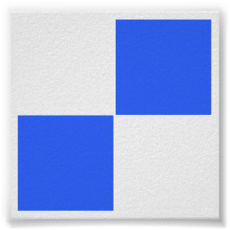 """3D - 2x2 Chess TAG Grid (1-1/4"""" fridge magnets) Poster"""