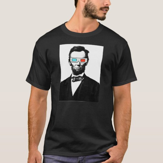 3D ABRAHAM LINCOLN T-Shirt