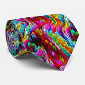 3D Abstract Art 21A-21B Options Neck Tie