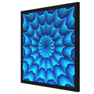 3D Abstract Art 4-8 Image Options Canvas Print