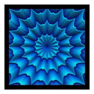 3D Abstract Art 4-8 Image Options Posters