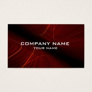 3d abstract business card