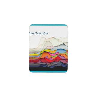 3D Abstract Design Business Card Wallet Business Card Holder