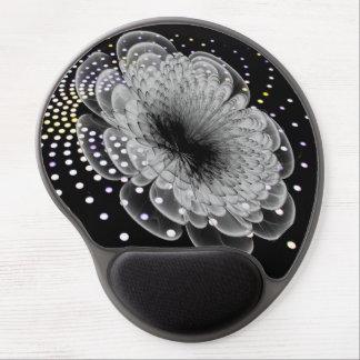 3D Abstract Flower Gel Mousepads