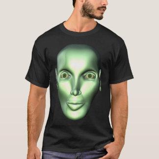 3D Alien Head Extraterrestrial Being Kids Dark T-s T-Shirt