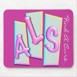 3D ALS FAC Mousepad Tapete De Ratones