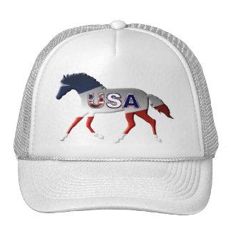 3D American Horseman Pride Trucker Hat