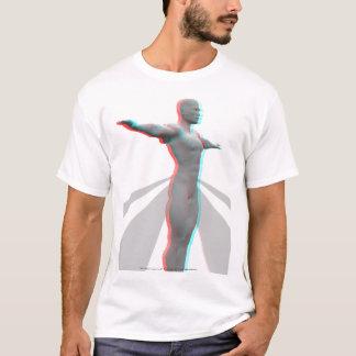 3D Anaglyph Makehuman 01 T-Shirt