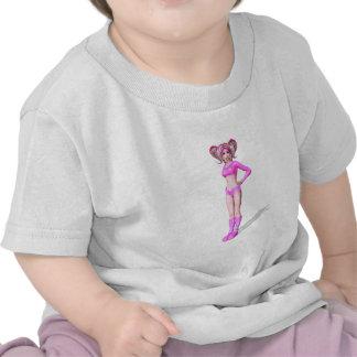 3D Anime Character Tshirt