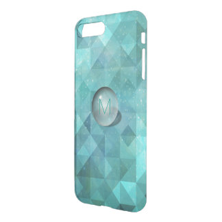 3D Aquatic Ball Geometric Mint Blue iPhone 7 Plus Case