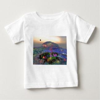 3d art magic crater baby T-Shirt
