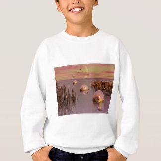 3d art perfect landing sweatshirt