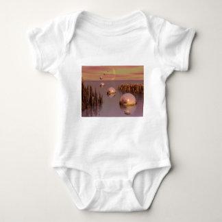 3d art perfect landing t-shirt