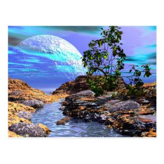 3d art seeing is believing postcard