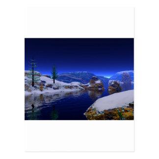 3d art the thaw postcard