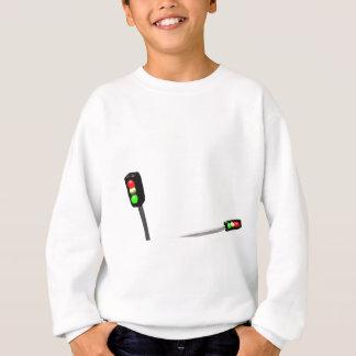 3d Art Traffic Light  Model Sweatshirt