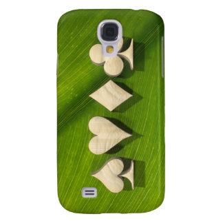 """3D Artwork """"Natural Poker"""" Samsung S4 Case"""
