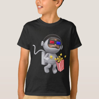 3d Astronaut Movie (Any Color U Like!) T-Shirt