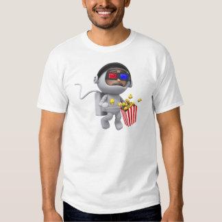3d Astronaut Movie (Any Color U Like!) T Shirt