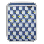 3D Azores flag pattern iPad Sleeve