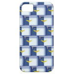 3D Azores flag pattern iPhone 5 Cases