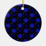 3D azul burbujea cricketdiane inusual interesante Adornos