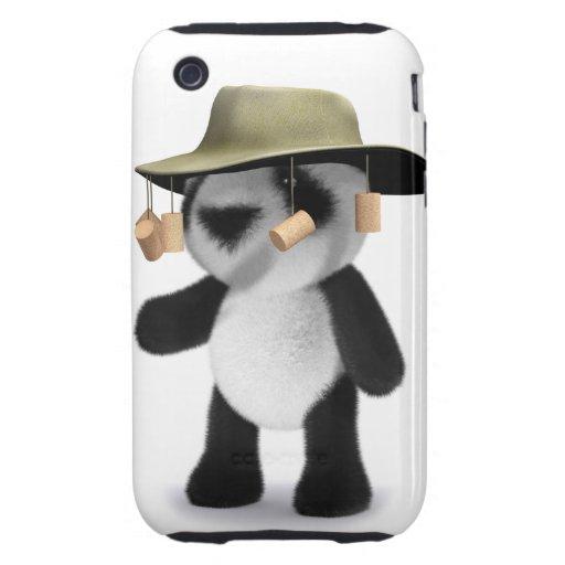 3d Baby Panda Australian Tough IPhone 3 Case Zazzle