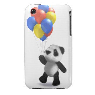 3d Baby Panda Balloons iPhone 3 Case