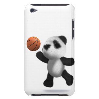 3d Baby Panda Basketball Case-Mate iPod Touch Case