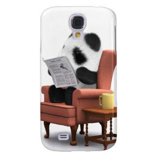 3d Baby Panda Chair Galaxy S4 Cover