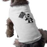 3d Baby Panda Checkered Flag Dog Clothing