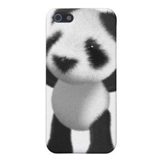3d Baby Panda Cheers Hooray! iPhone SE/5/5s Cover