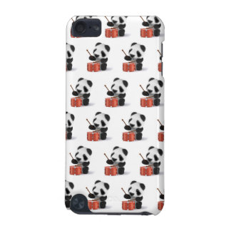 3d Baby Panda Drummer iPod Touch (5th Generation) Cases