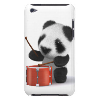 3d Baby Panda Drummer iPod Touch Case