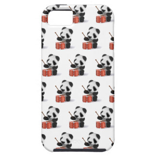 3d Baby Panda Drummer iPhone SE/5/5s Case