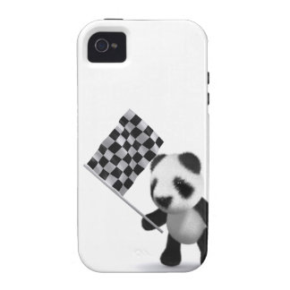 3d Baby Panda Finish Line Case-Mate iPhone 4 Cases