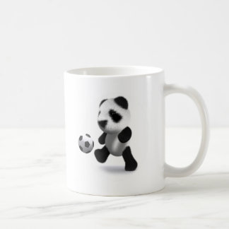 3d Baby Panda Football Coffee Mug