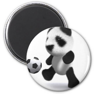 3d Baby Panda Football Magnet